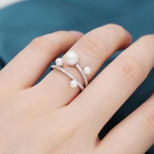 anillos de perla