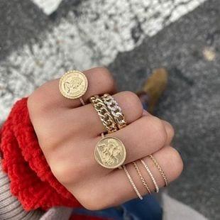 anillos de cadena