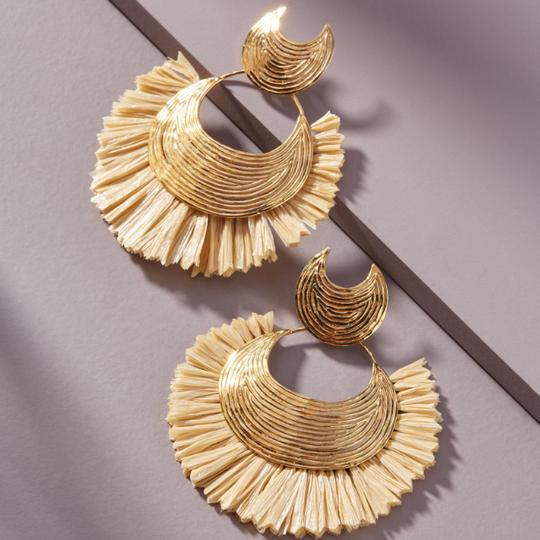 pendientes atrevidos de oro personalizados