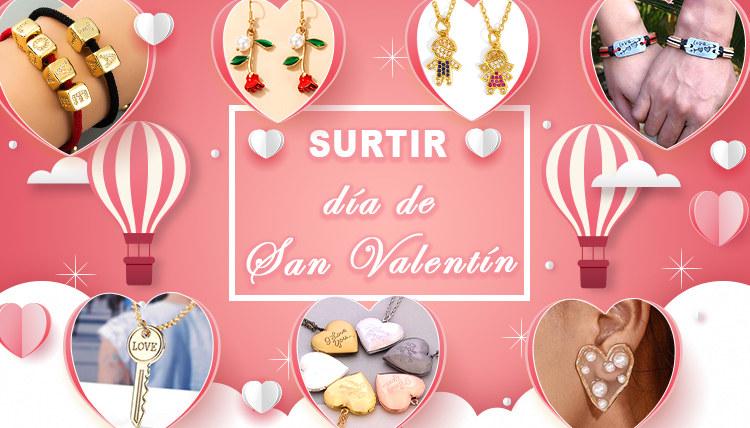 Regalo de joyería de San Valentín de Nihaojewelry