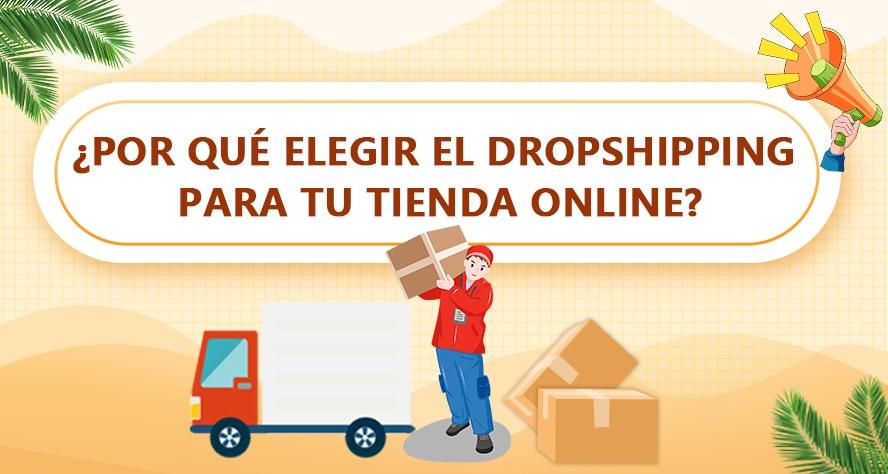 Por qué elegir el dropshipping para tu tienda online?