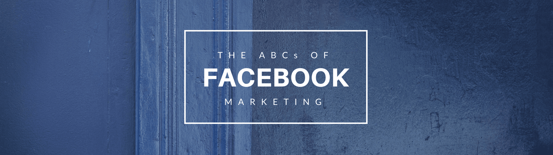 Facebook Marketing Main Image