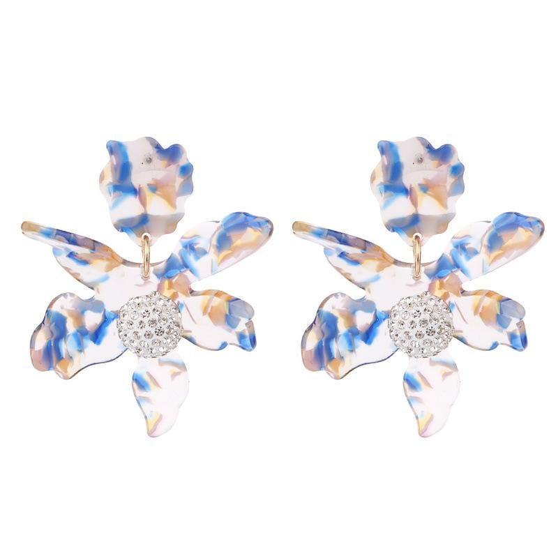 Geometric Acrylic Earrings