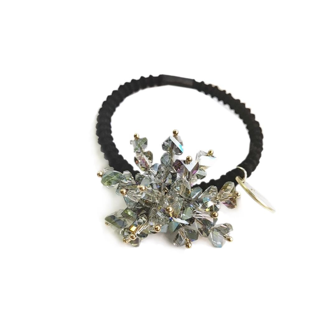 Super Flash Crystal Personality Temperament Sweet Hair Circle Head Rope