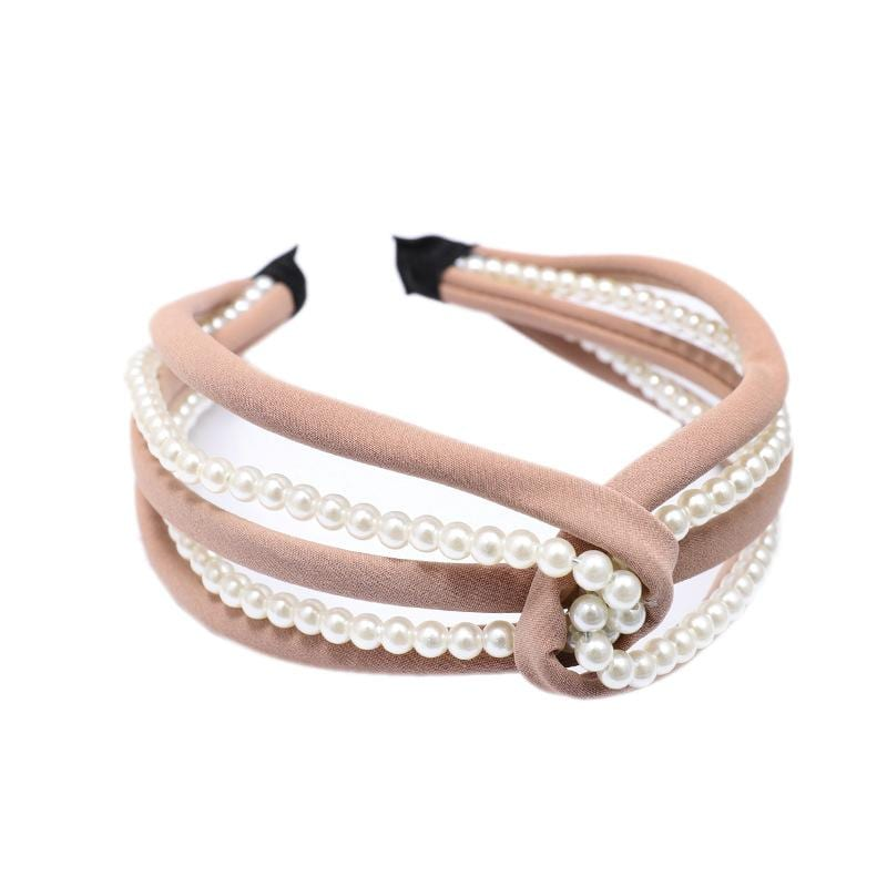 Fashion trend Japanese and Korean pearl headband