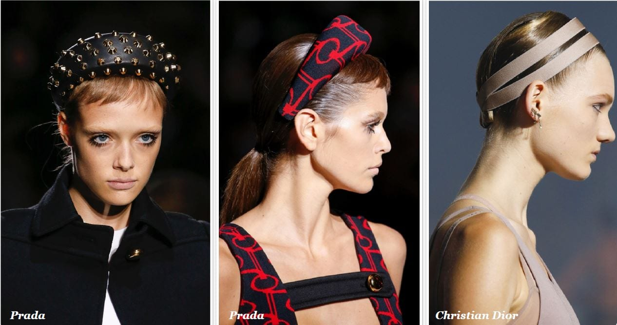 Prada headband collection
