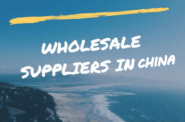 Wholesale suppliers in China.