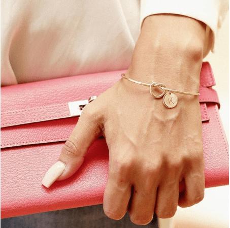 Alloy bracelet.