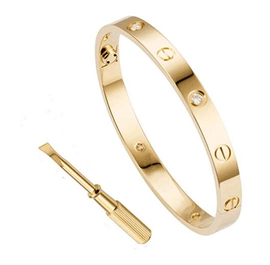 Titanium steel bracelet.