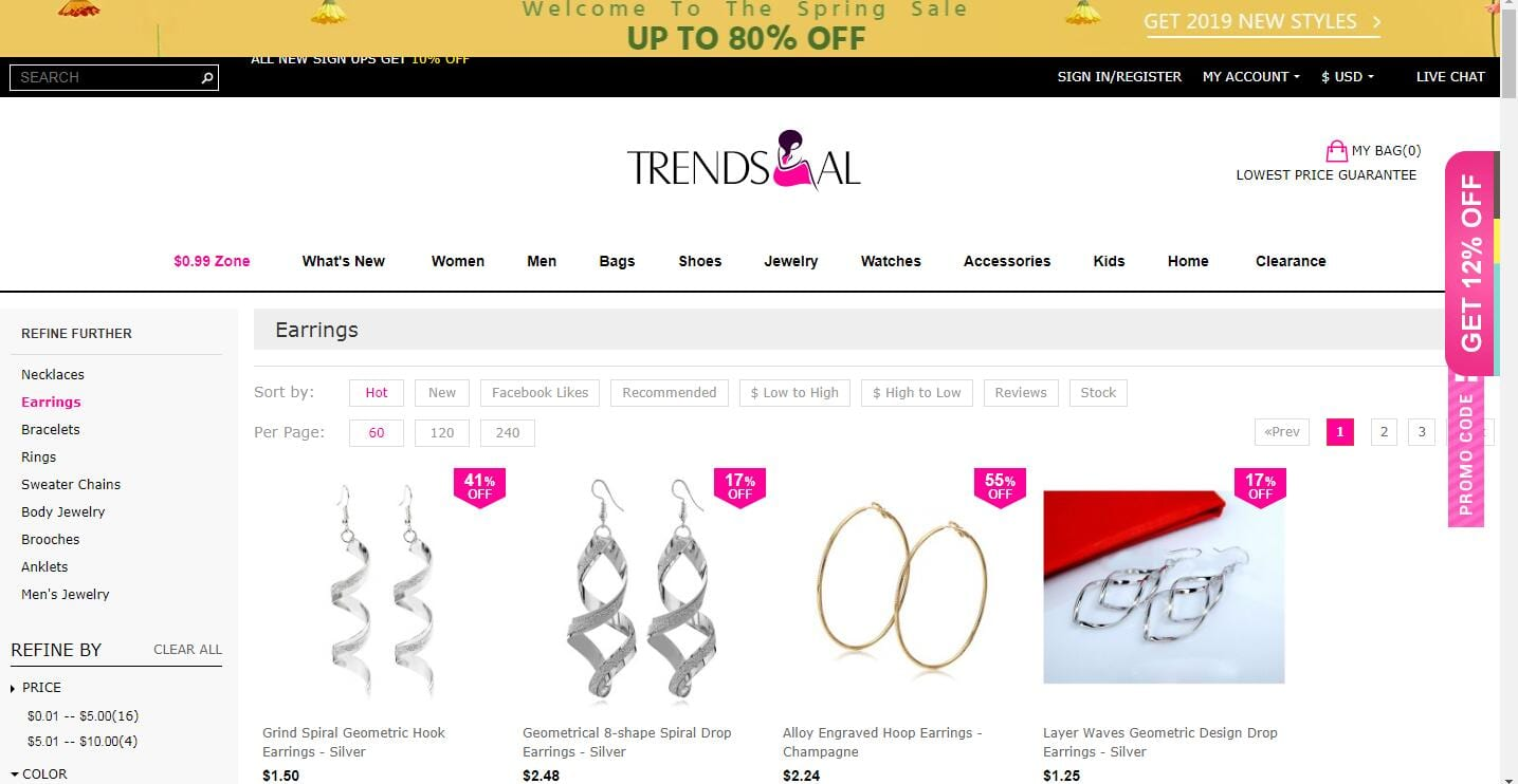 Trendsgal Homepage