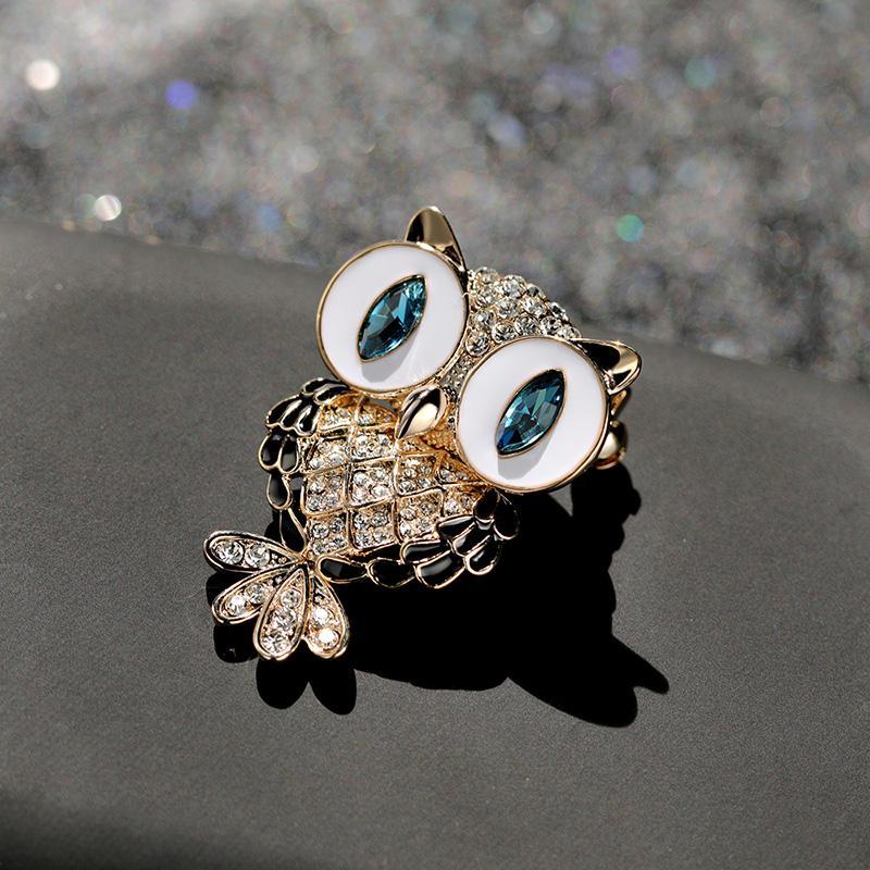 Owl brooch.