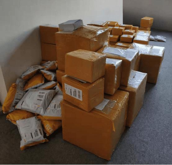 los paquetes