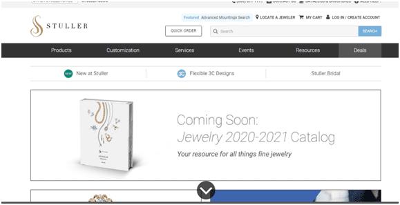Stuller Homepage