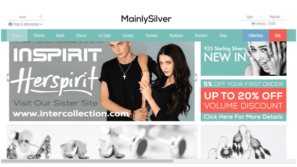 Mainlysilver Homepage