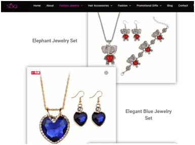 SOQ Jewelry Homepage