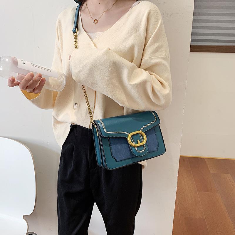 Korean Version Of The Matte Frosted Shoulder Bag