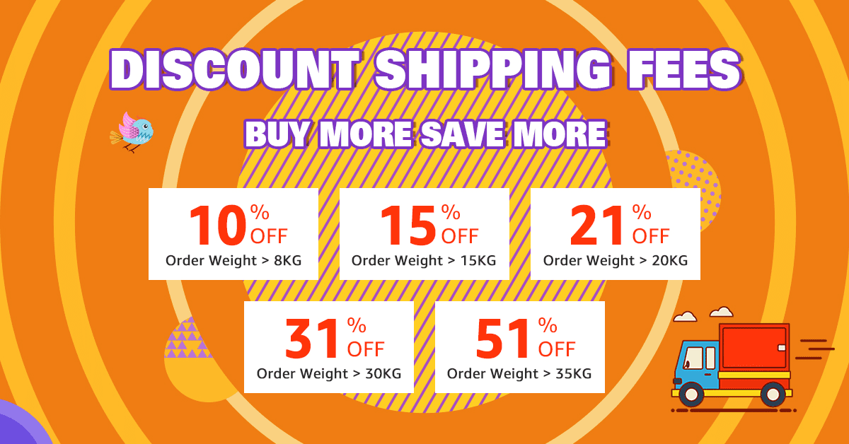 Shipping Fees Discount