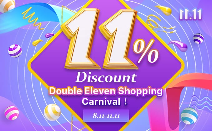 11% Discount Double Eleven Shopping Carnival -- Nihaojewelry