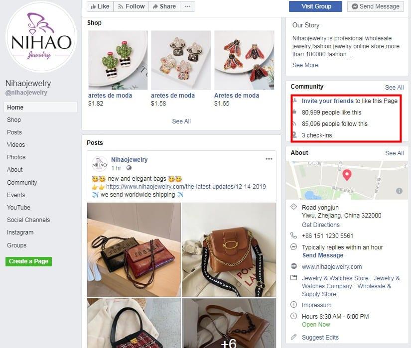 nihao facebook page