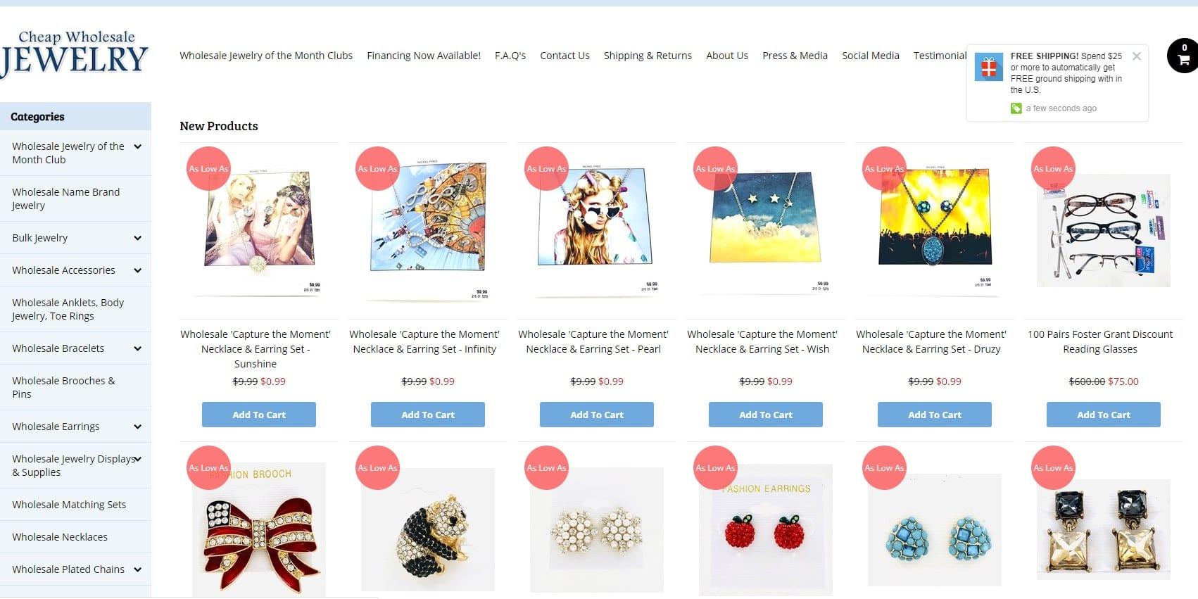 Cheap Wholesale Jewelry homepage