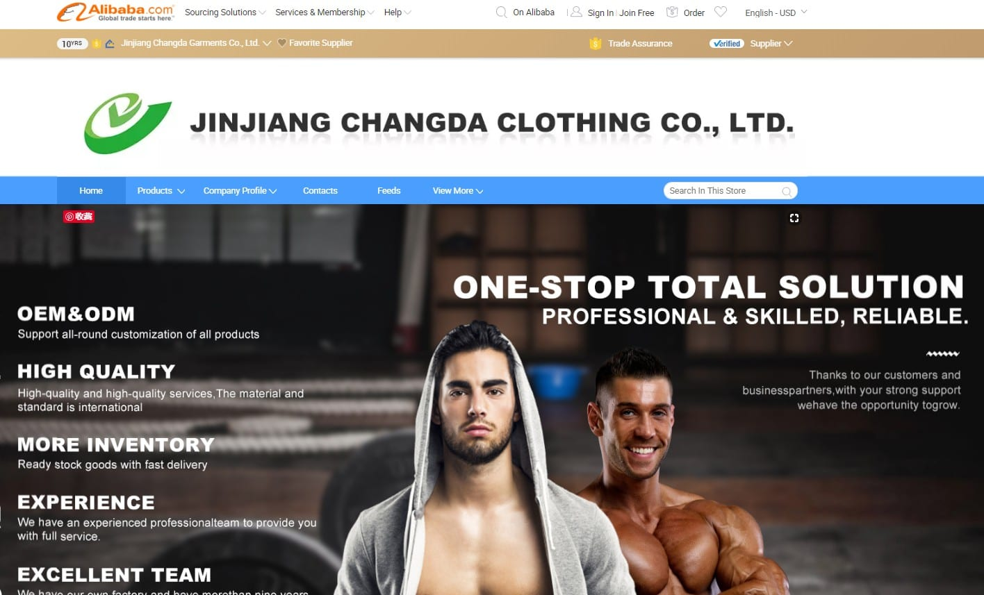 fjchangda homepage