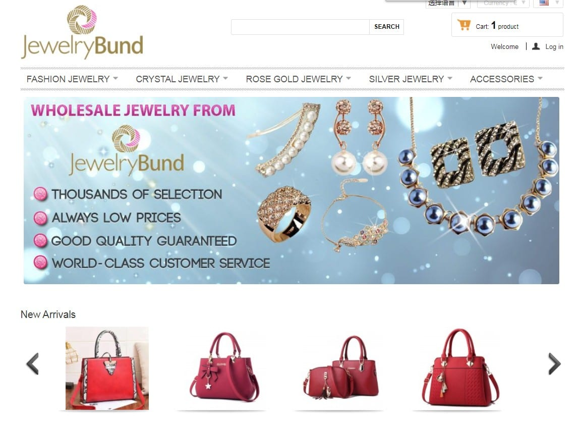 Jewelrybund homepage