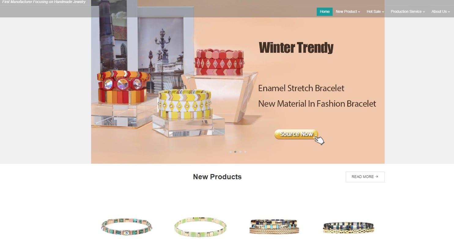 TTT jewelry homepage