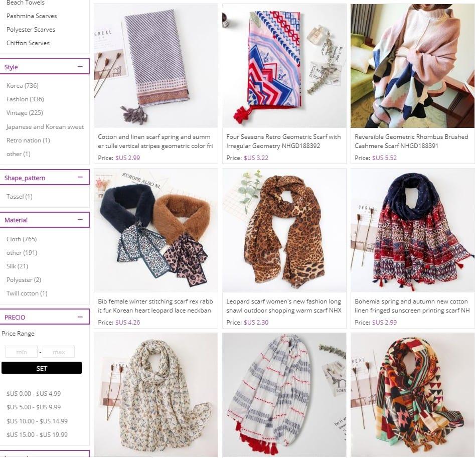 wholesale cheap scarves