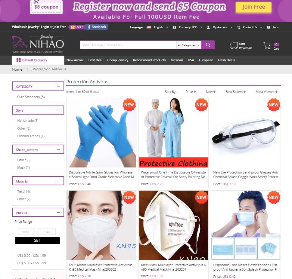 buy masks online