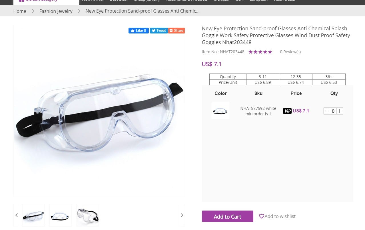wholesale goggles