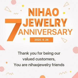 7th anniversary of Nihaojewelry
