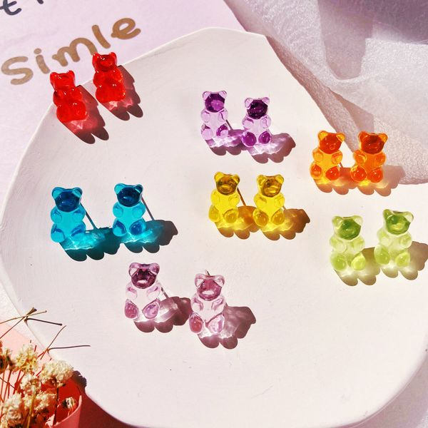 Candy Color Earrings