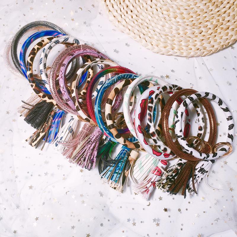 Leather Color Bracelet