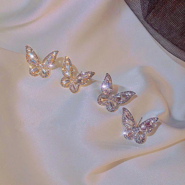 Retro Style Butterfly Earrings
