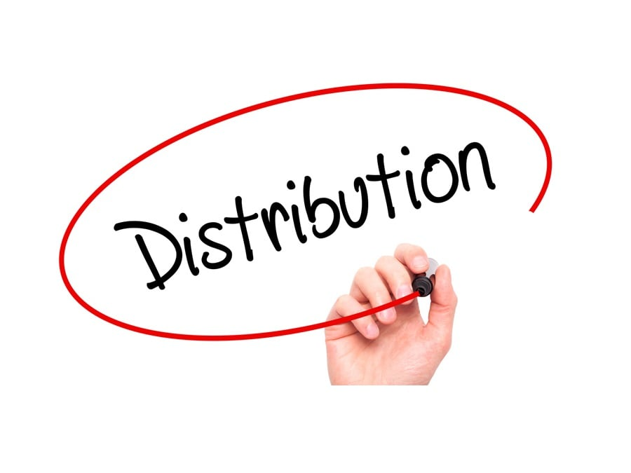 distribution china