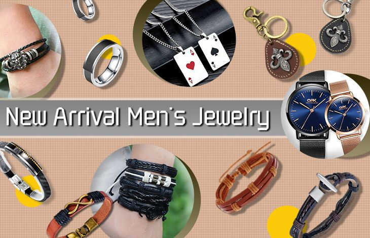 fashion trends of men's jewelry