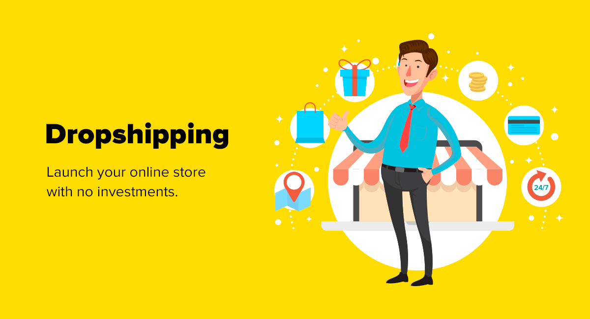 start a dropshipping business for free
