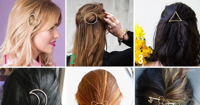 minimalist hair clips