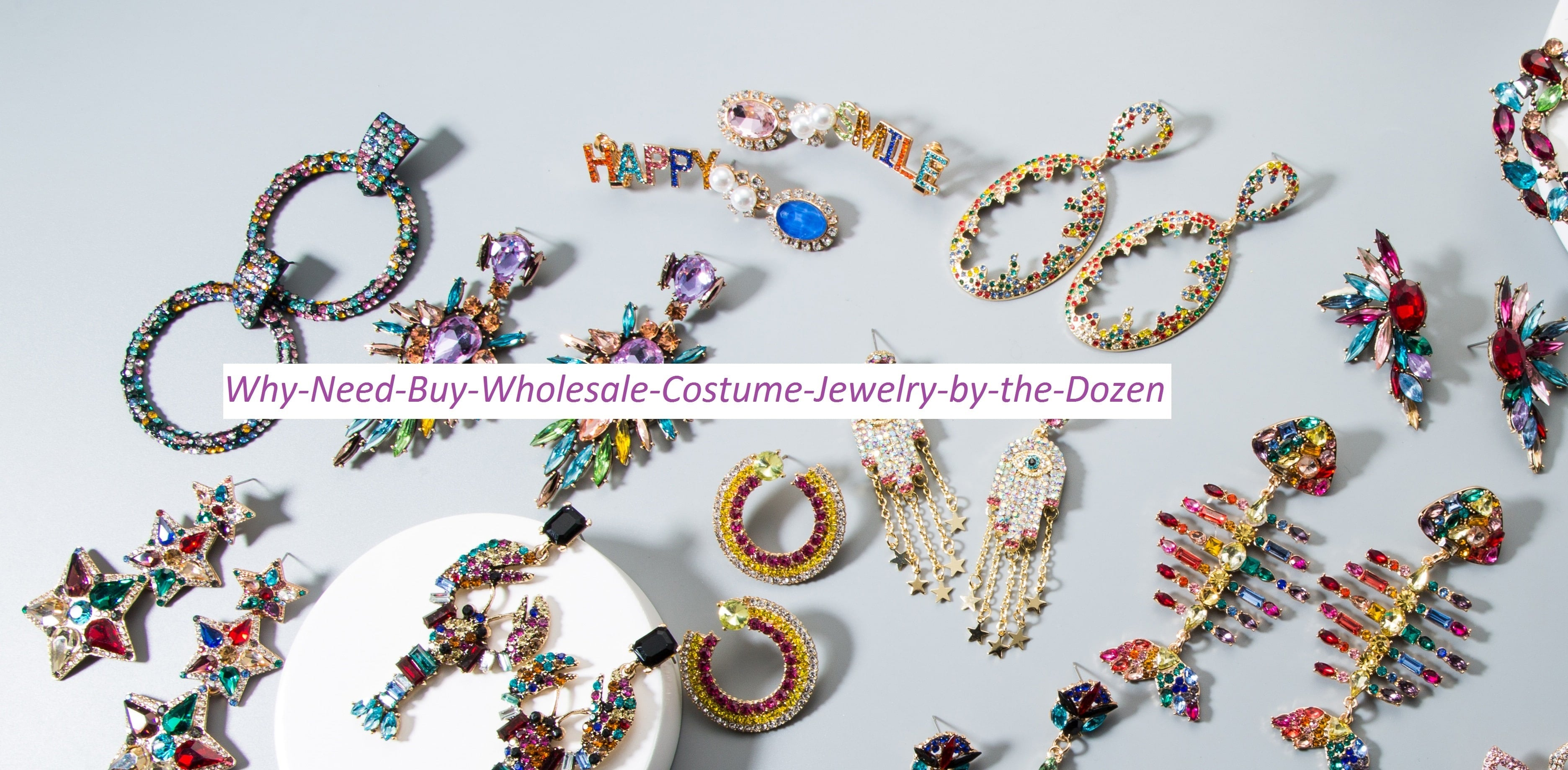 Why Need Buy Wholesale Costume Jewelry by the Dozen