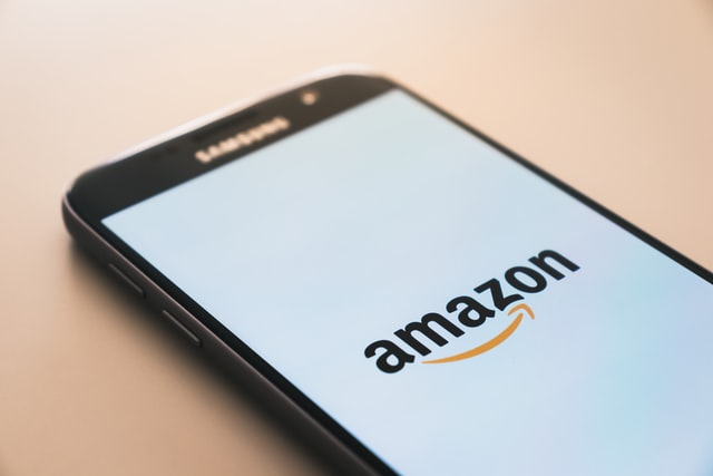 amazon app on a mobile phone