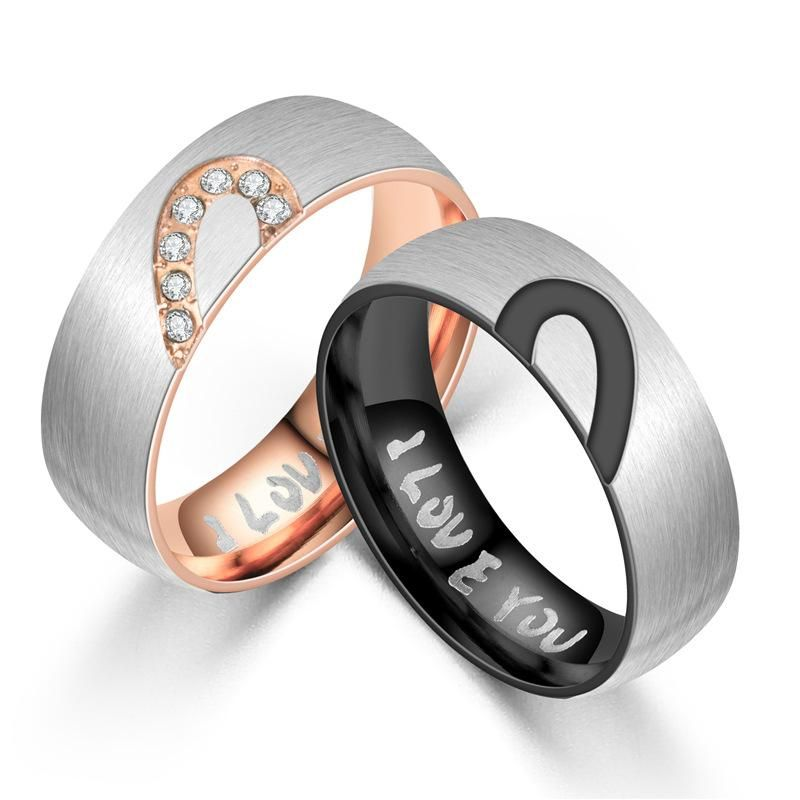stainless stell couple ring product