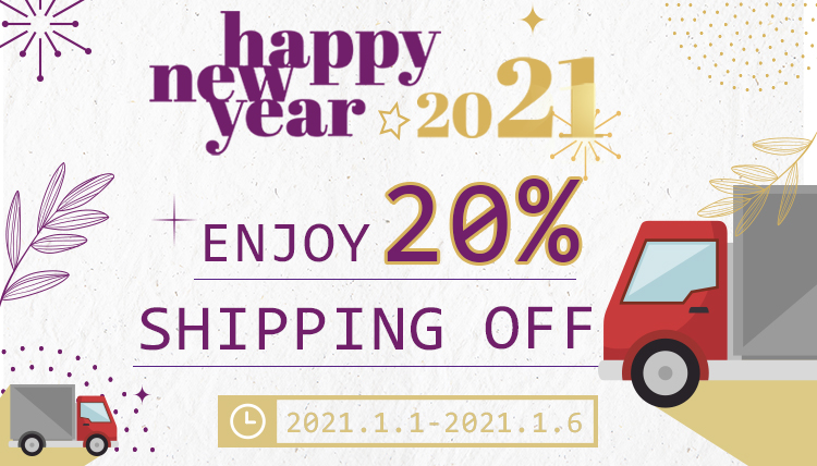 happy new year 2021 discount