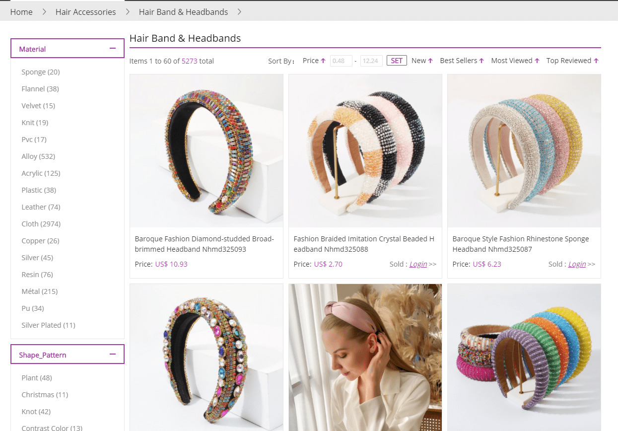 headband in nihaojewelry