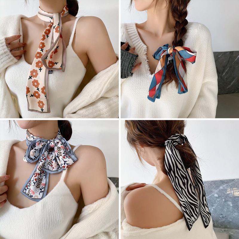 slender satin scarf