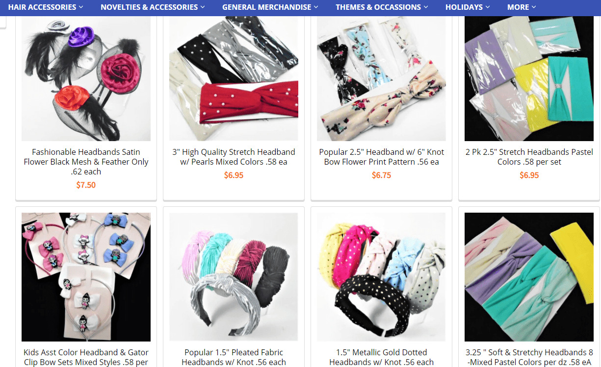 headband in shop.accessoriespalace
