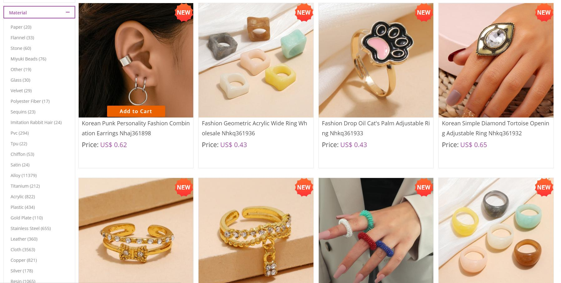 Nihaojewelry cheap jewelry page
