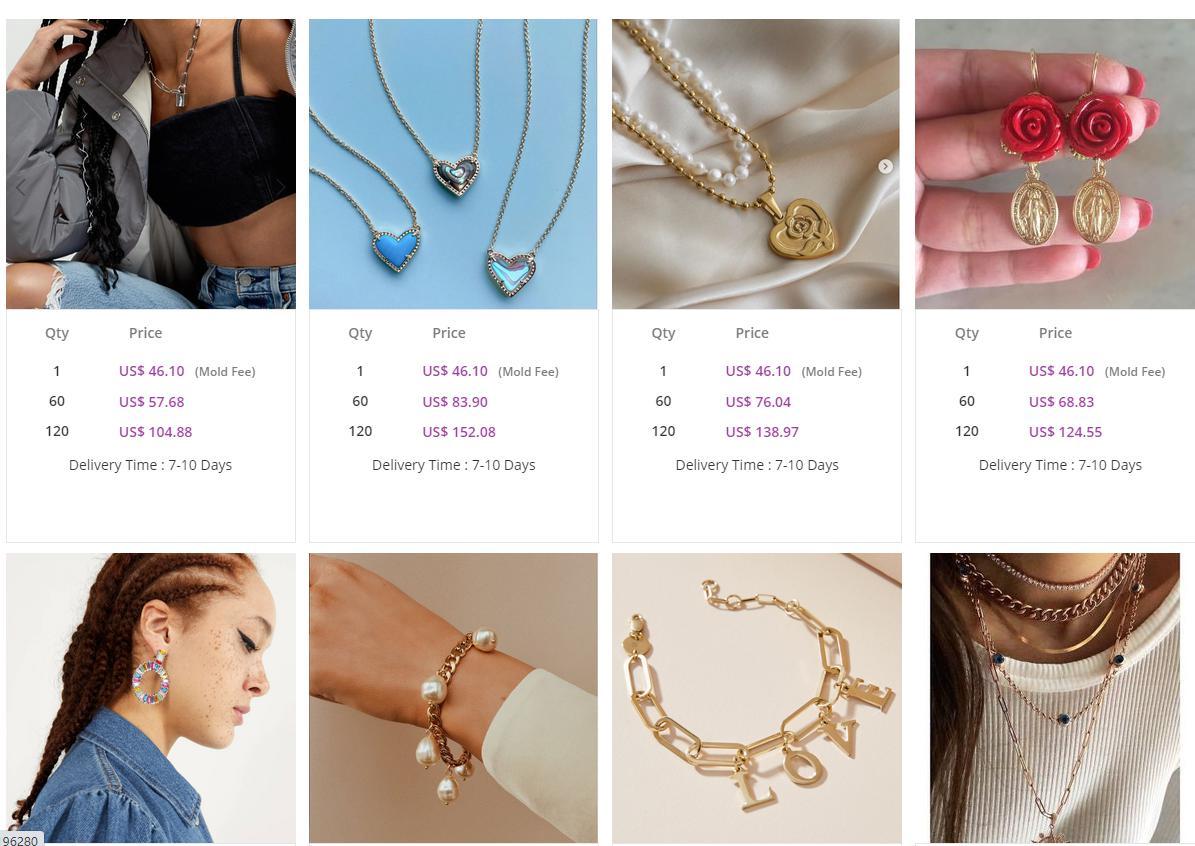 custom jewelry from Nihaojewelry