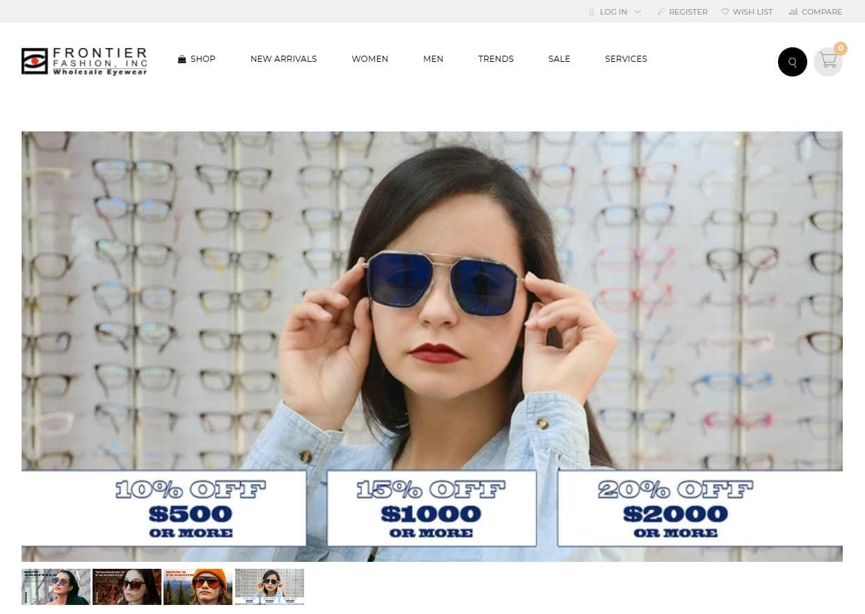 frontier fashion eyewear