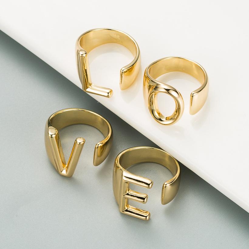 letter rings