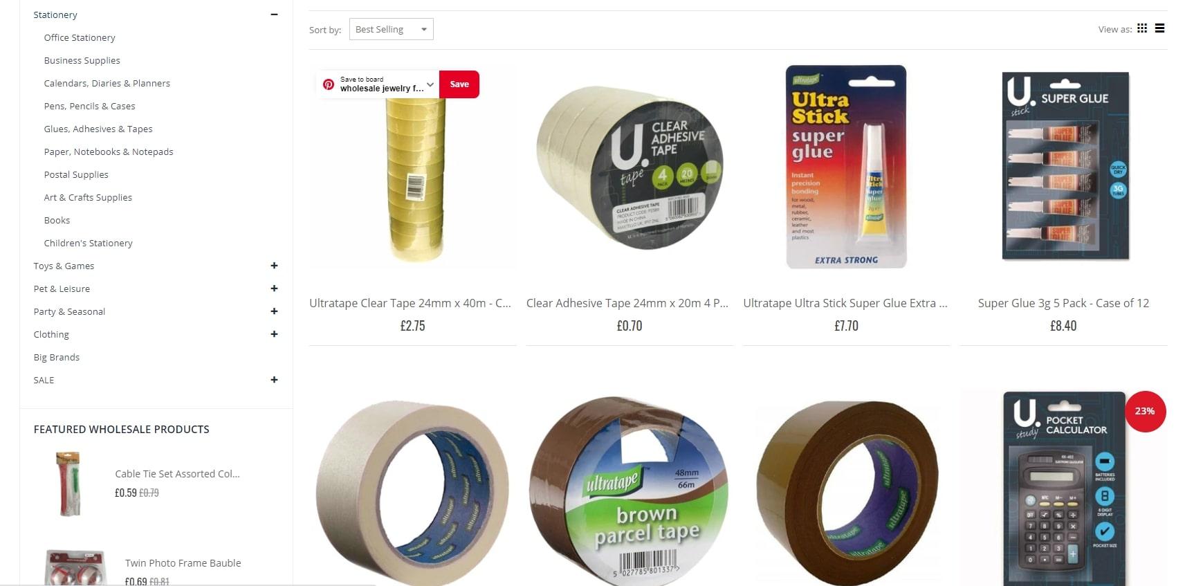 mxwholesale stationery